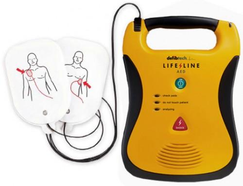 Defibrillators for Clacksfirst BID