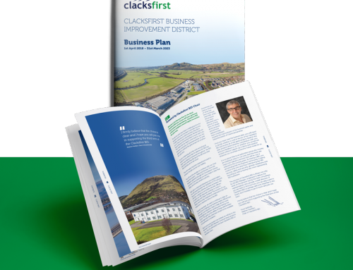 "Local businesses say ""Yes"" to continued investment through Clacksfirst BID"